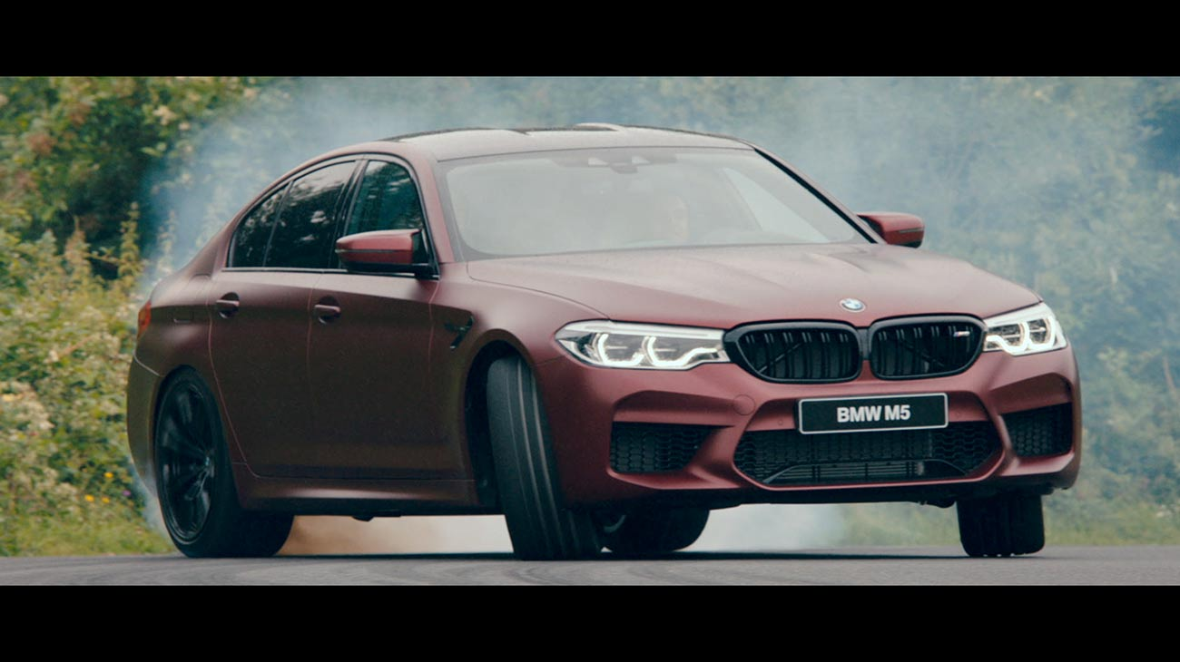 BMW M5 reveal video and live event