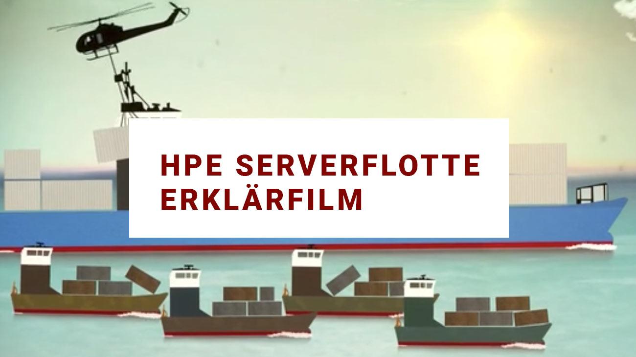 Erklärvideo für HPE